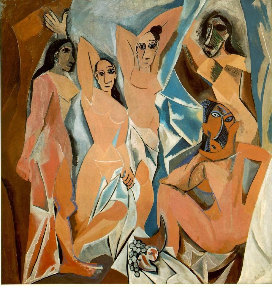 5_Pablo Picasso, Les deomiselles d'Avignon